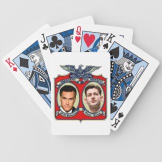 Romney Ryan Retro Bicycle Playing Cards