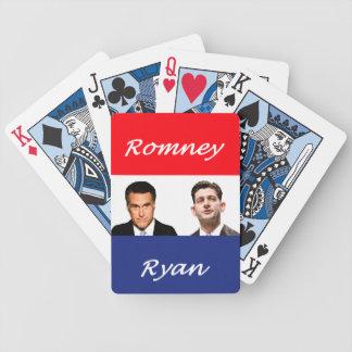 Romney Ryan Retro Bicycle Playing Cards