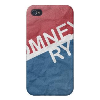 ROMNEY RYAN RETRO BLOCK.png iPhone 4 Cases
