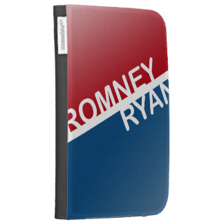 ROMNEY RYAN RETRO BLOCK.png Kindle Folio Case