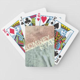 ROMNEY RYAN RETRO BLOCK.png Bicycle Playing Cards