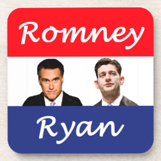 Romney Ryan Retro Coaster