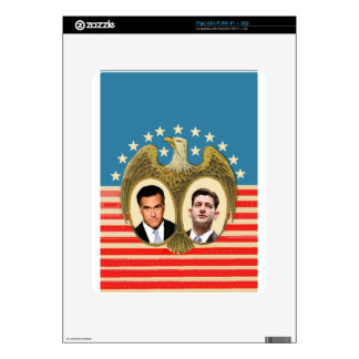 Romney Ryan Retro Decal For iPad