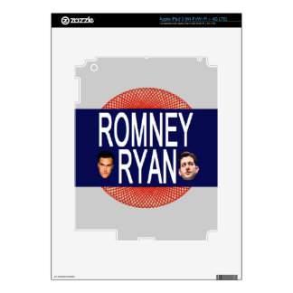 Romney Ryan Retro Decal For iPad 3