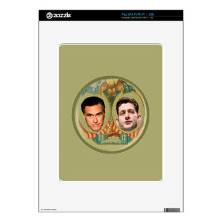 Romney Ryan Retro Decals For The iPad