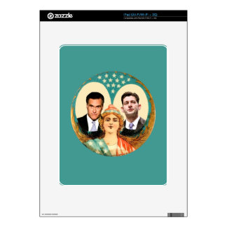 Romney Ryan Retro iPad Decal