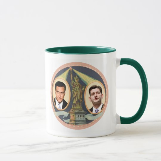 Romney Ryan Retro Mug