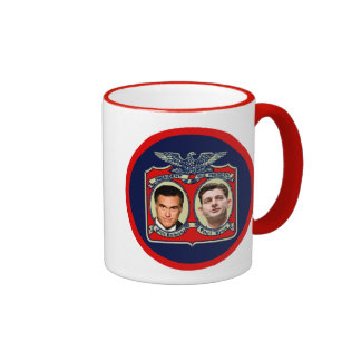 Romney Ryan Retro Mugs