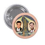 Romney Ryan retro Pin Redondo 2,5 Cm