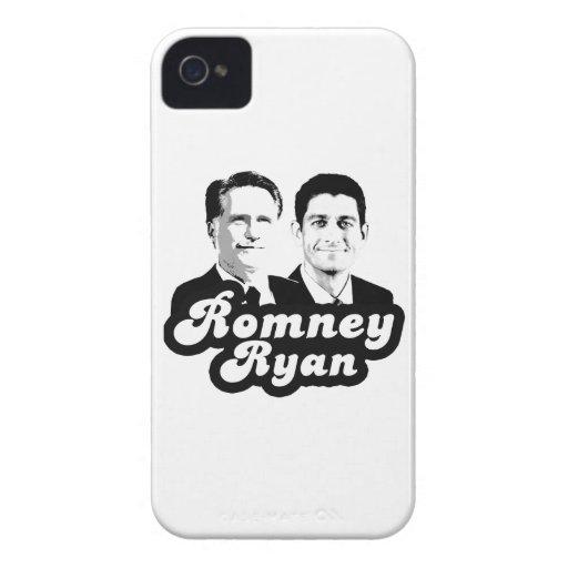 ROMNEY RYAN RETRO.png Case-Mate iPhone 4 Fundas