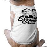 ROMNEY RYAN RETRO.png Pet T-shirt