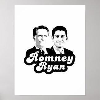 ROMNEY RYAN RETRO.png Poster