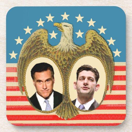 Romney Ryan retro Posavaso