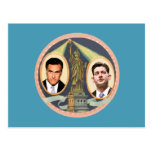 Romney Ryan retro Postal
