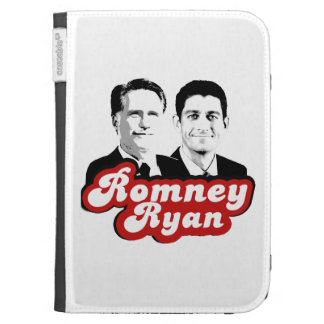 ROMNEY RYAN RETRO RED KINDLE COVERS