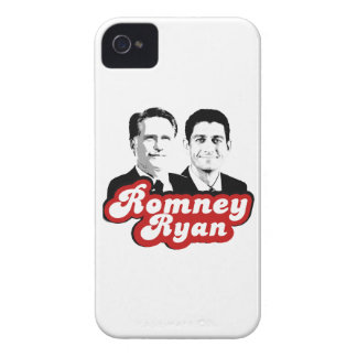 ROMNEY RYAN RETRO RED.png Case-Mate iPhone 4 Case