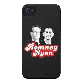 ROMNEY RYAN RETRO RED.png iPhone 4 Cases