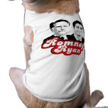 ROMNEY RYAN RETRO RED.png Dog T-shirt