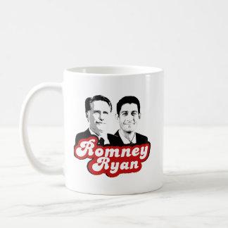 ROMNEY RYAN RETRO RED.png Classic White Coffee Mug