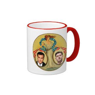 Romney Ryan Retro Ringer Mug