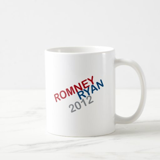 ROMNEY RYAN RETRO ROUND.png Classic White Coffee Mug