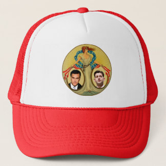 Romney Ryan Retro Trucker Hat
