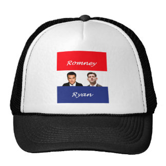 Romney Ryan Retro Trucker Hat