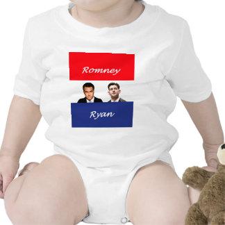 Romney Ryan Retro Baby Creeper