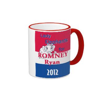 Romney Ryan Ringer Mug