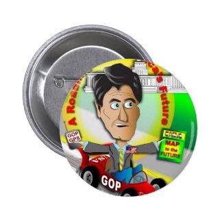 Romney Ryan Roadmap 2 Inch Round Button