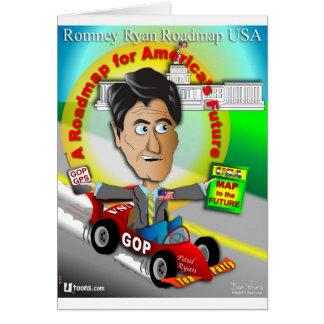 Romney Ryan Roadmap Greeting Card