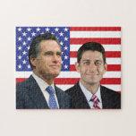 Romney - Ryan Rompecabezas Con Fotos