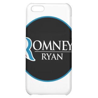 Romney Ryan Round (Black) iPhone 5C Covers