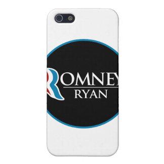 Romney Ryan Round (Black) iPhone 5 Cover