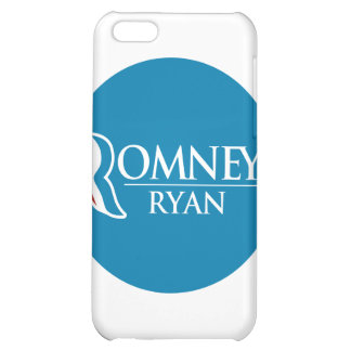 Romney Ryan Round (Light Blue) Cover For iPhone 5C