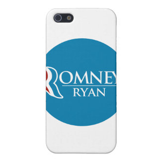 Romney Ryan Round (Light Blue) Cover For iPhone 5