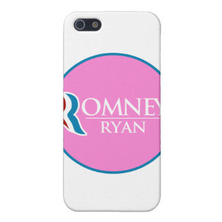 Romney Ryan Round (Pink) Case For iPhone 5