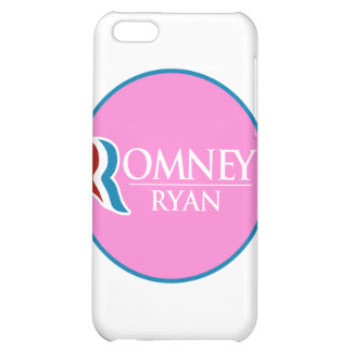 Romney Ryan Round (Pink) iPhone 5C Covers