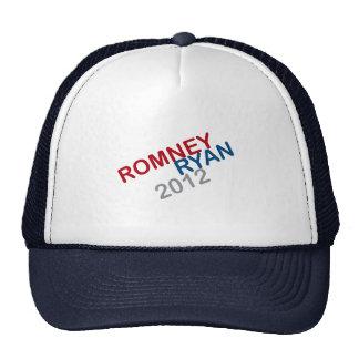 ROMNEY RYAN ROUND.png RETRO Gorras De Camionero