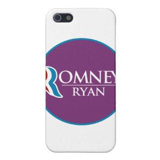 Romney Ryan Round (Purple) iPhone 5 Covers