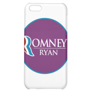 Romney Ryan Round (Purple) iPhone 5C Covers