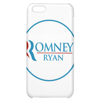 Romney Ryan Round (White) iPhone 5C Covers