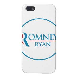 Romney Ryan Round (White) iPhone 5 Cover