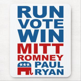 Romney Ryan Run Vote Win Mouse Pad
