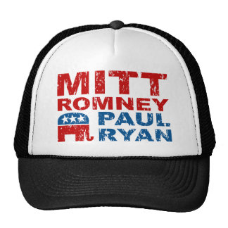 Romney Ryan Run Vote Win Trucker Hat