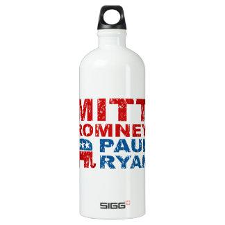 Romney Ryan Run Vote Win Water Bottle