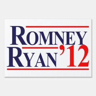 Romney Ryan Sign