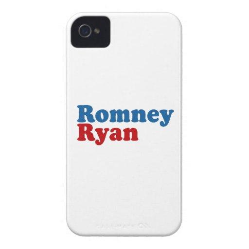 ROMNEY RYAN SIMPLE iPhone 4 COBERTURA