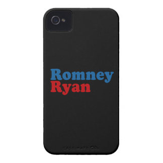 ROMNEY RYAN SIMPLE.png iPhone 4 Case-Mate Cases