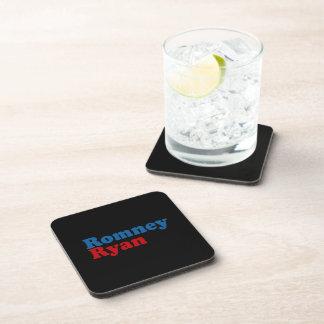 ROMNEY RYAN SIMPLE.png Posavasos De Bebida